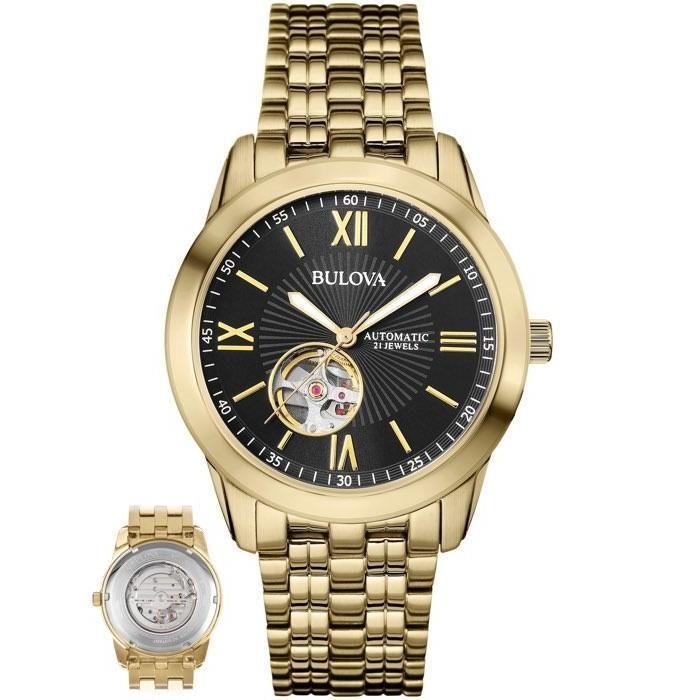 Relógio Bulova Masculino Ref  Wb32004u Automático Dourado R  1.499,90 à  vista. Adicionar à sacola 1998427b3f