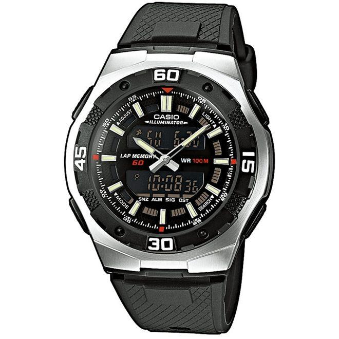 ae689afc84c Relógio Casio Anadigi Masculino AQ-164W-1AVDF - Relógio Masculino ...