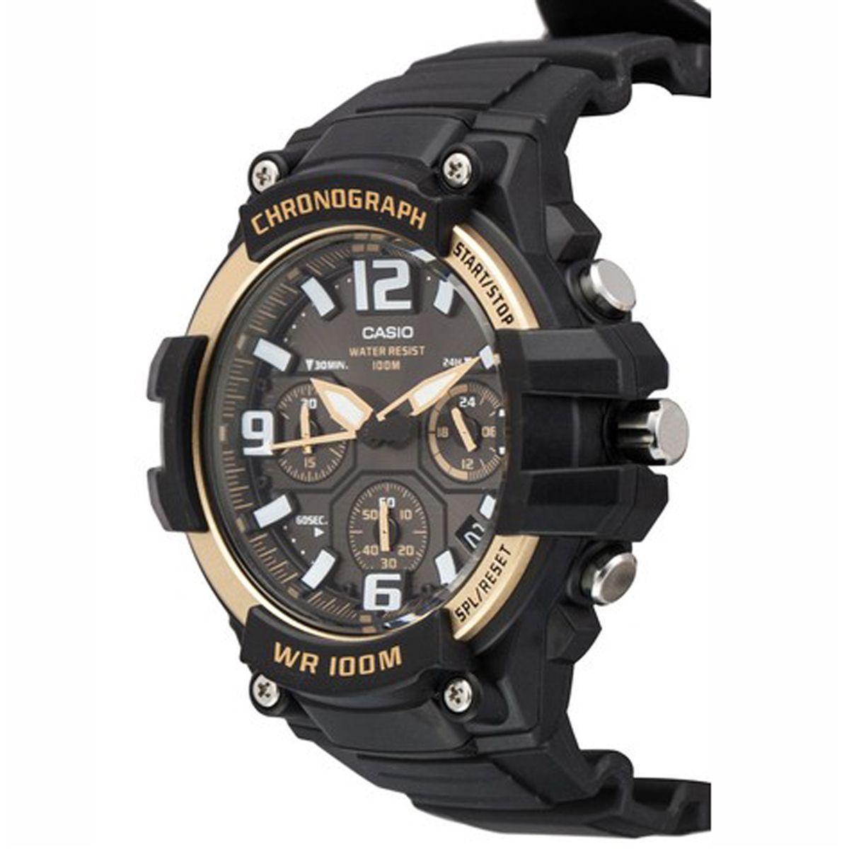 e3e5f93d053 Relógio Casio Analógico Chronograph Masculino MCW-100H-9A2VDF R  462