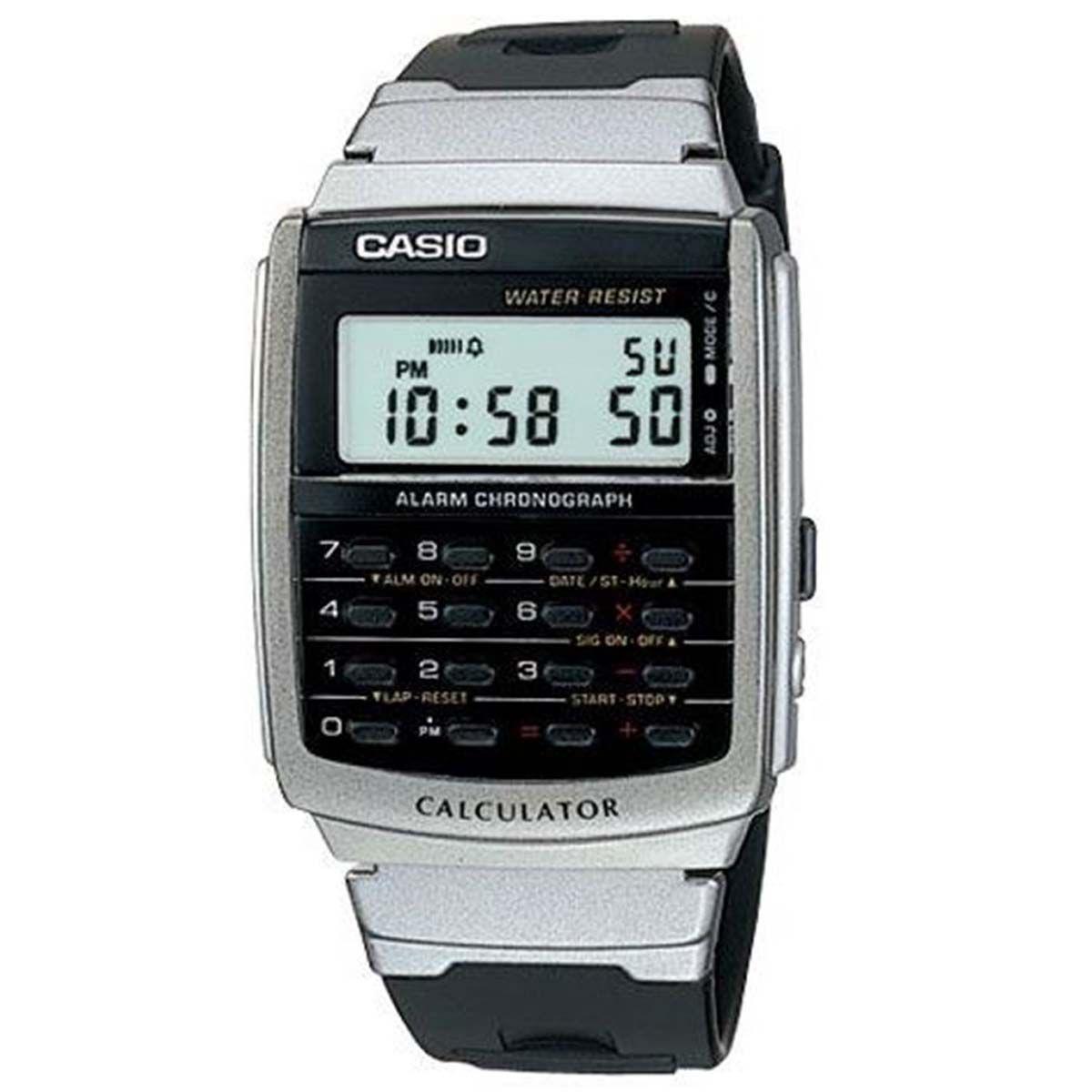 cfefa73f9ee Relógio Casio Calculadora Digital Masculino CA-56-1DF Produto não disponível