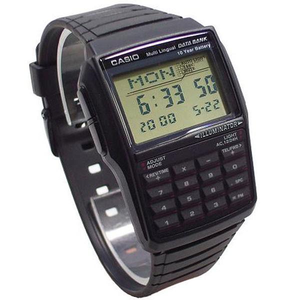 f7638114117 Relógio Casio Data Bank Masculino Dbc-32-1adf - Relógio Masculino -  Magazine Luiza