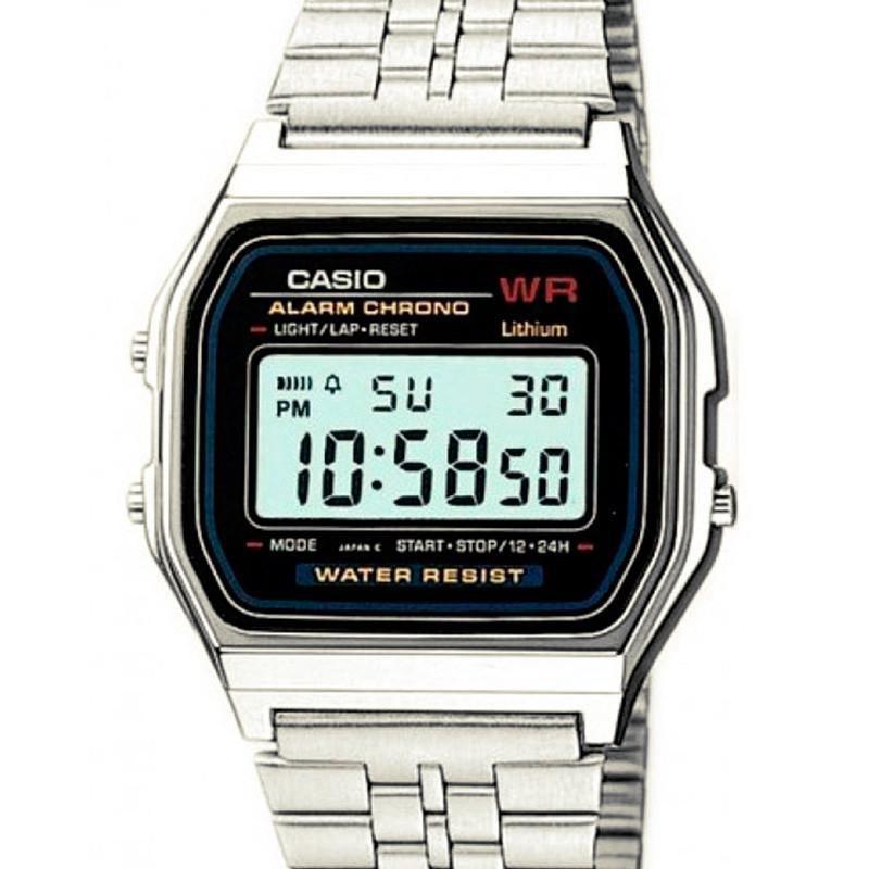 4c76c9955a5 Relógio Casio Digital Feminino Vintage - A159WA-N1DF Produto não disponível