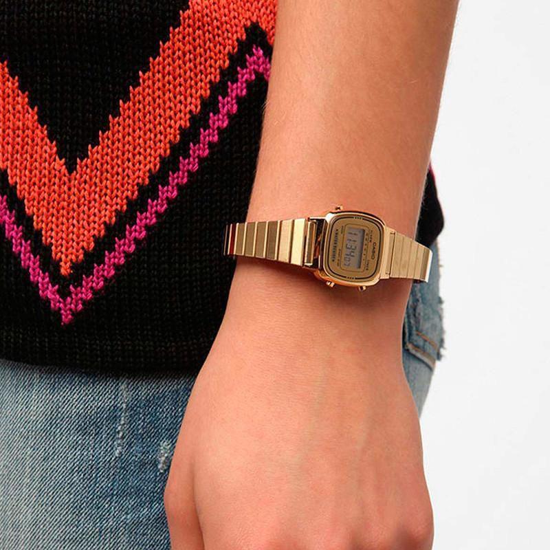 176f46293ac Relógio Casio Digital Feminino Vintage - LA670WGA-9DF Produto não disponível