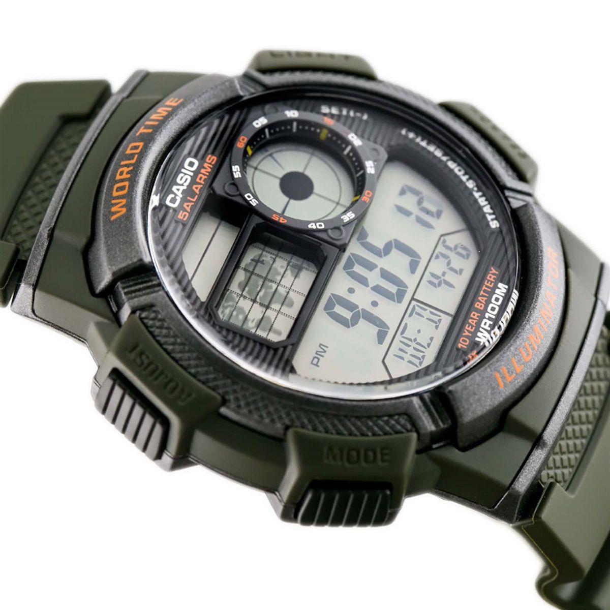 d124bcdea48 Relógio Casio Digital Masculino AE-1000W-3AVD - Relógio Masculino ...