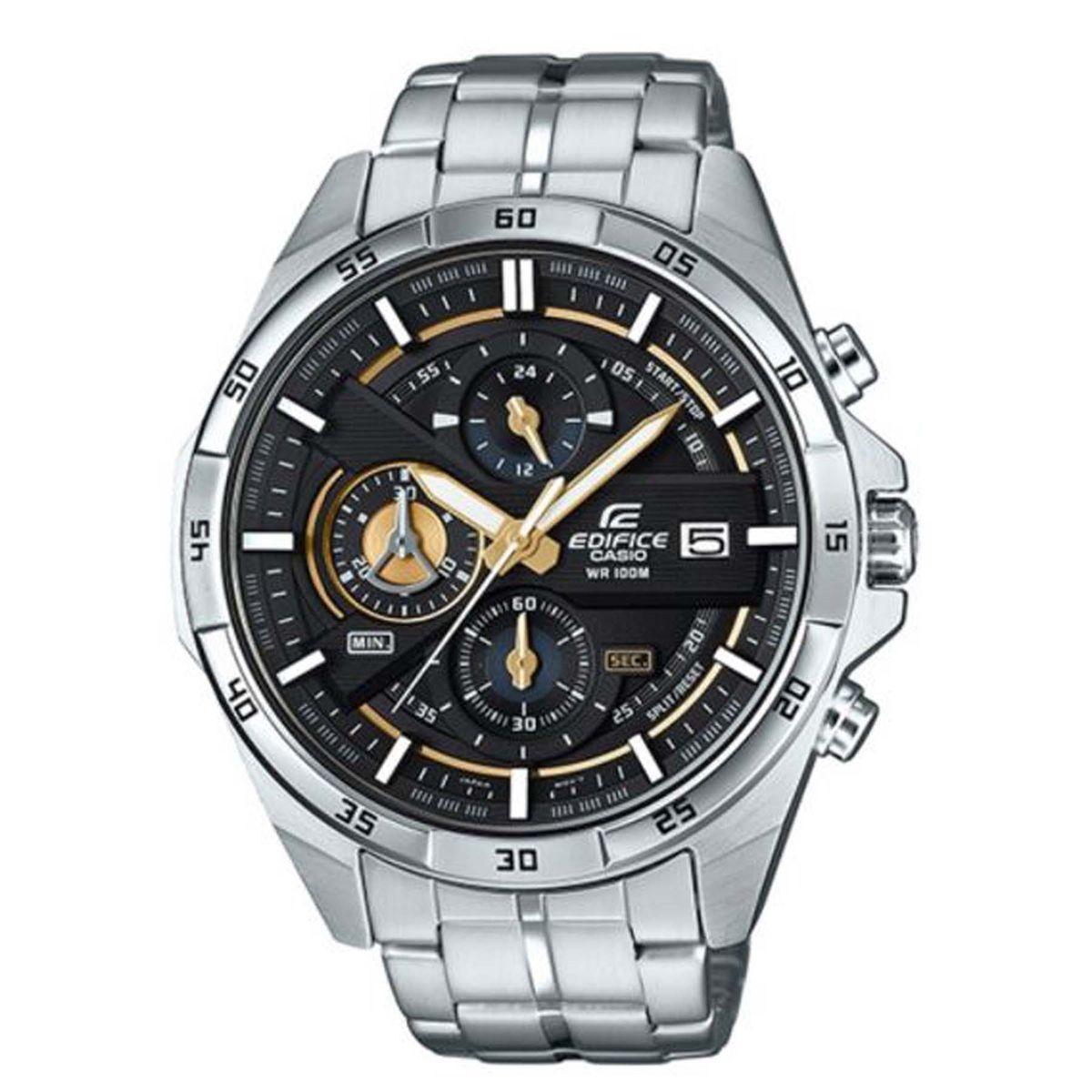 5baa6101254 Relógio Casio Edifice Cronógrafo Masculino Analógico EFR-556D-1AVUDF  Produto não disponível