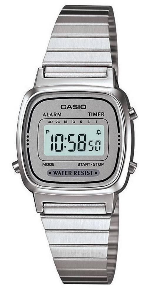 68ad77f203d Relógio Casio Feminino Vintage LA670WA-7DF - Relógio Feminino ...