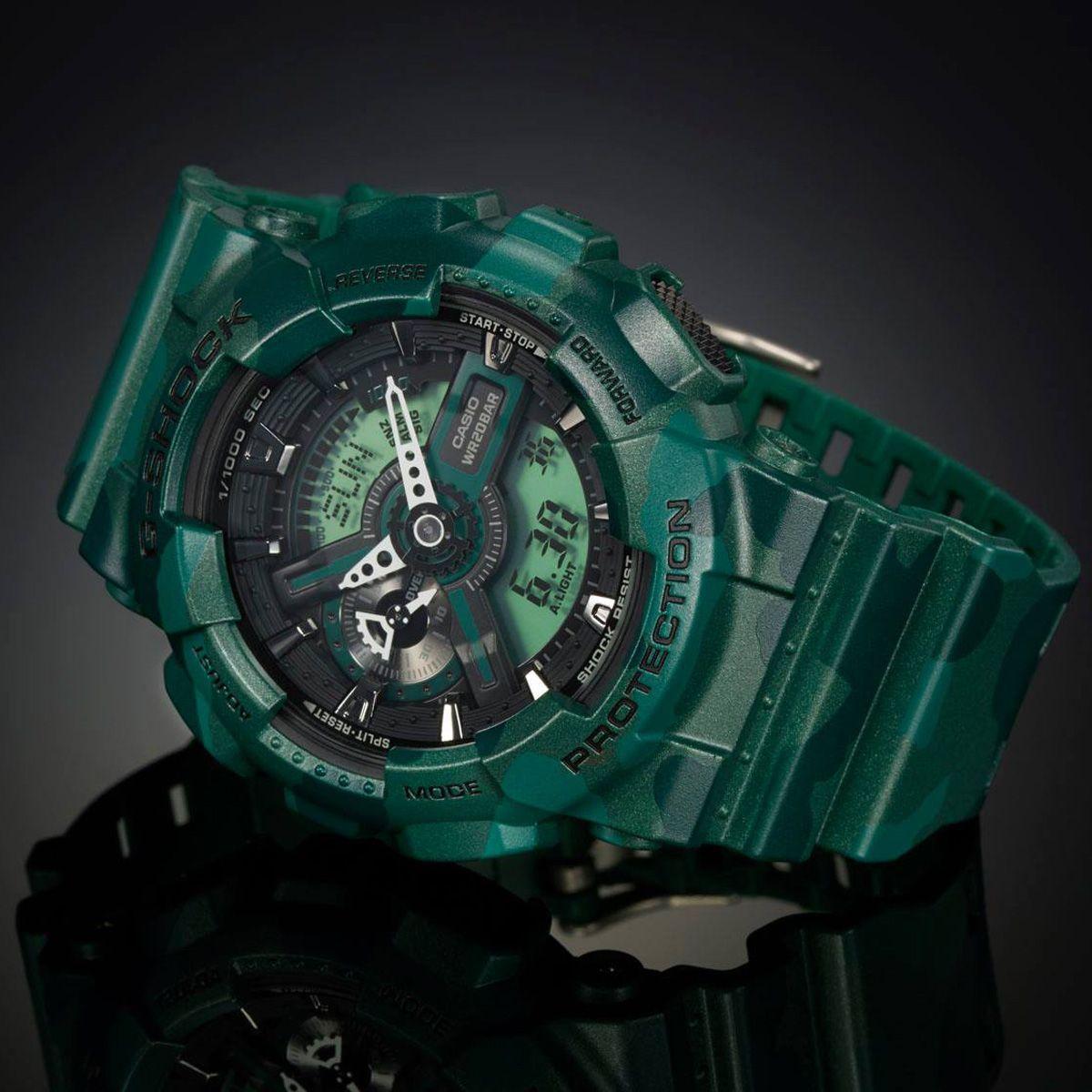 39c93dab96d Relógio Casio G- Shock Anadigi Masculino GA-110CM-3A Produto não disponível