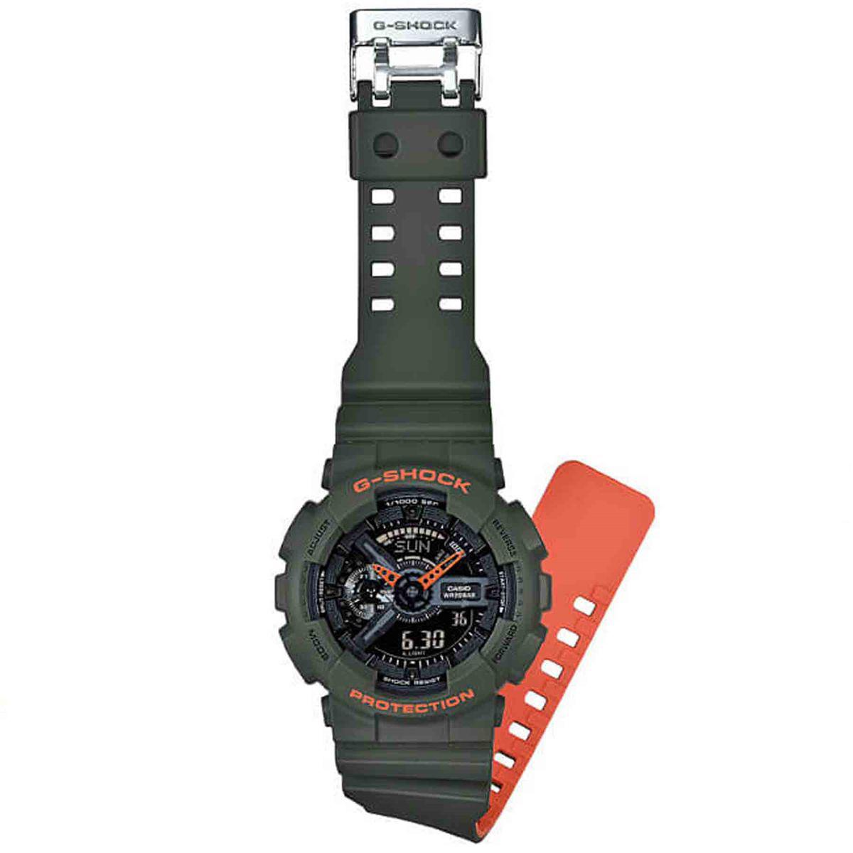 c70659542a1 Relógio Casio G- Shock Anadigi Masculino GA-110LN-3ADR - Relógio ...