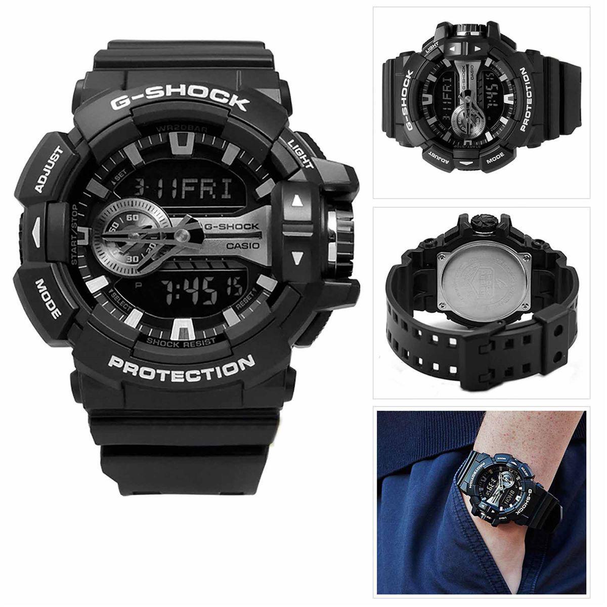65022c0ef0b Relógio Casio G- Shock Anadigi Masculino GA-400GB-1ADR Produto não  disponível