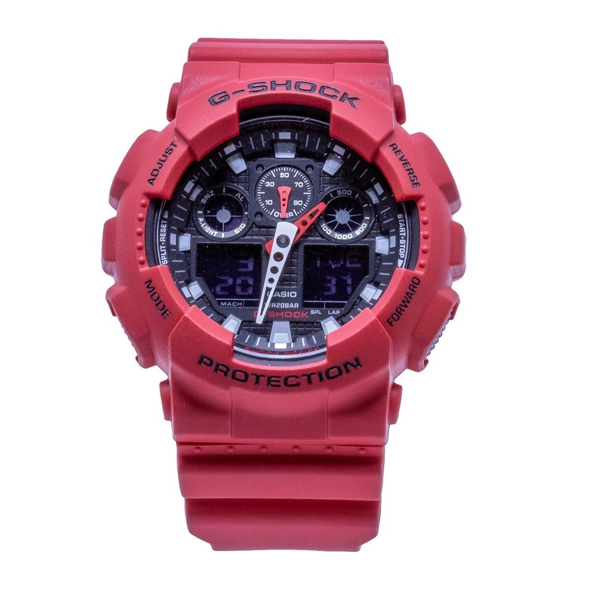 a34318fe23d Relógio Casio G-Shock Digital Masculino - GA100B4ADR - Relógio ...