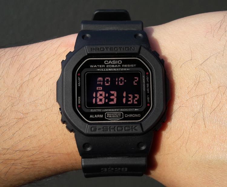103e8340e21 Relógio Casio G-shock Dw-5600MS 1dr Serie Prata Original - Relógio ...