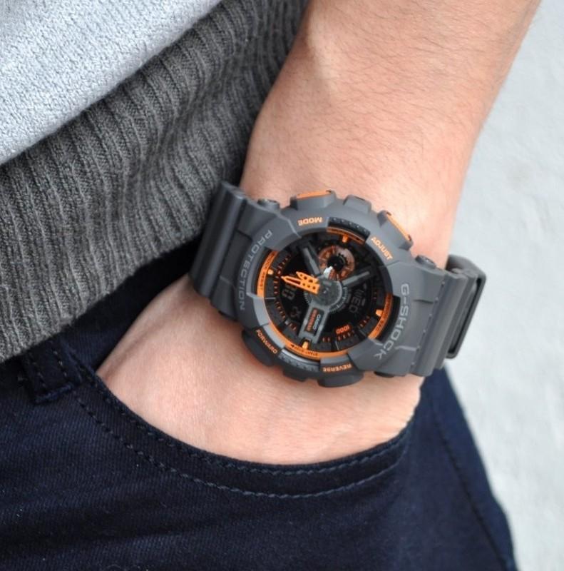 2a9f1c5d1db Relógio Casio G-Shock Masculino GA-110TS-1A4DR - Relógio Masculino ...