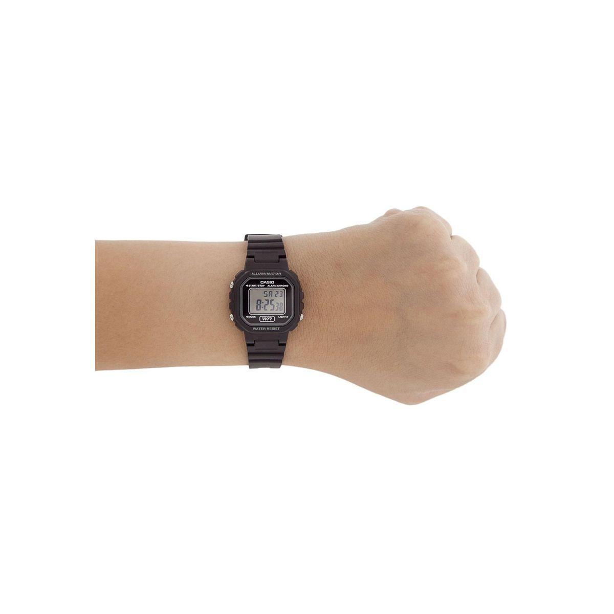 39e30c197e2 Relógio Casio la-20wh-1b Digital - Preto - Relógios - Magazine Luiza