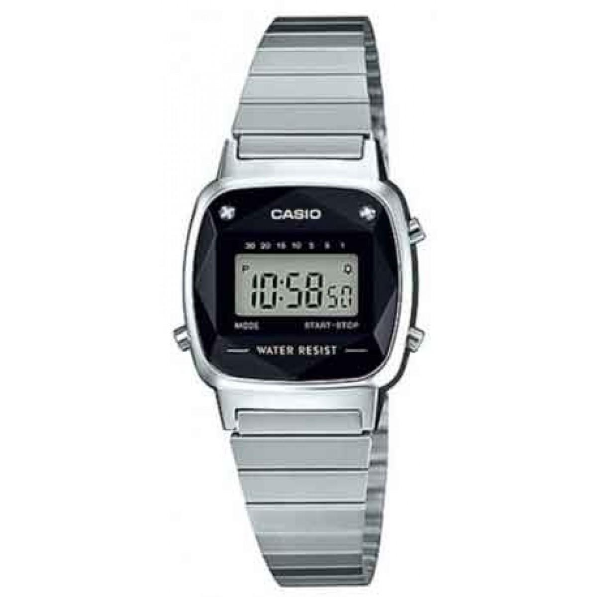 c142711b335 Relógio casio la wad diamante prata retro vintage original vista adicionar  sacola jpg 1200x1200 Relogio casio
