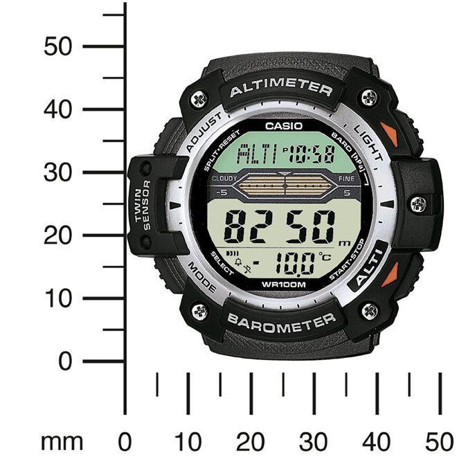 a6c040e5068 Relógio Casio Outgear Anadigi Masculino SGW-300H-1AVDR - Relógio ...