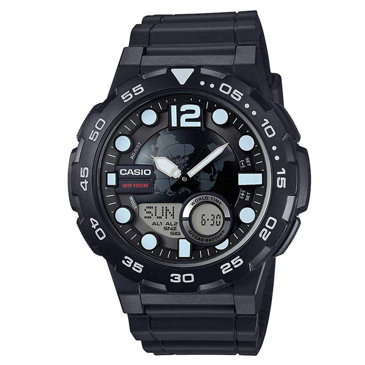 354b36bd6cc Relógio Casio Standard Digital Masculino AEQ-100W-1A - Relógio ...
