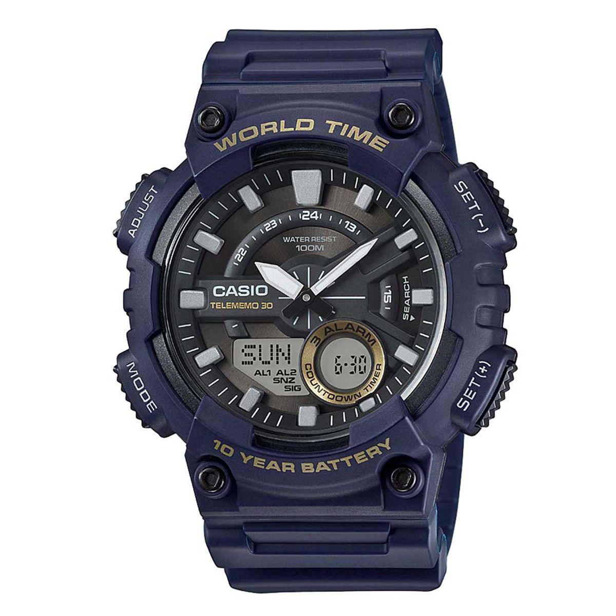 dfb71932f80 Relógio Casio Standard Digital Masculino AEQ-110W-2 Produto não disponível