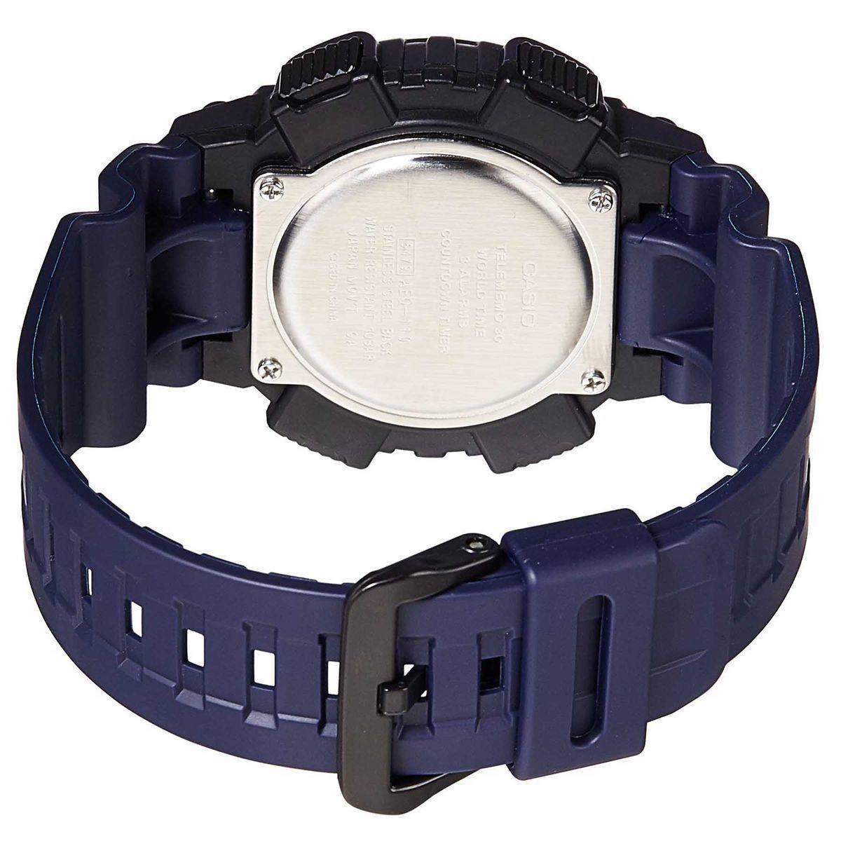 3adfa74b183 Relógio Casio Standard Digital Masculino AEQ-110W-2 Produto não disponível