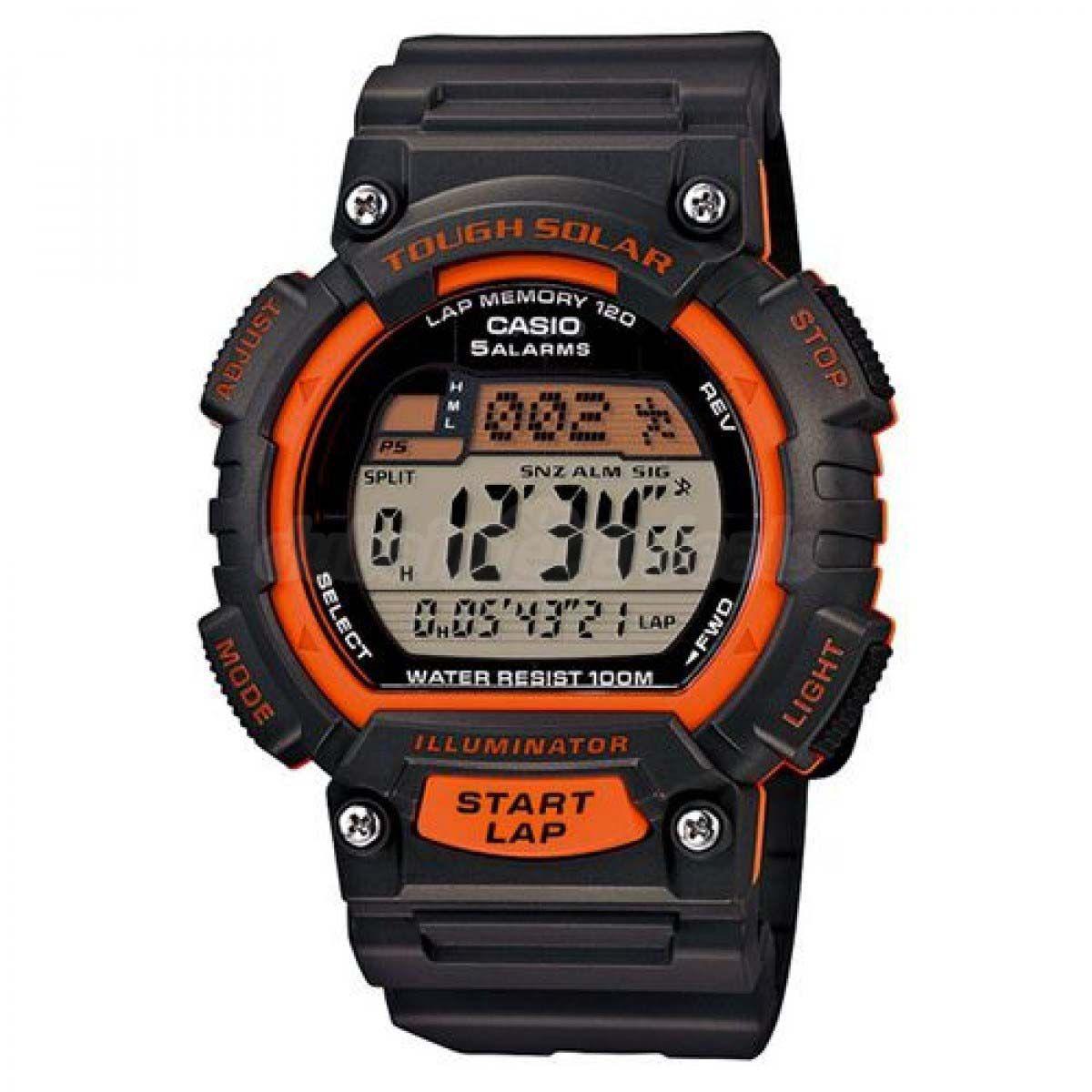 c59f228a381 Relógio Casio Standard Digital Tough Solar Masculino STL-S100H-4AVDF R   452