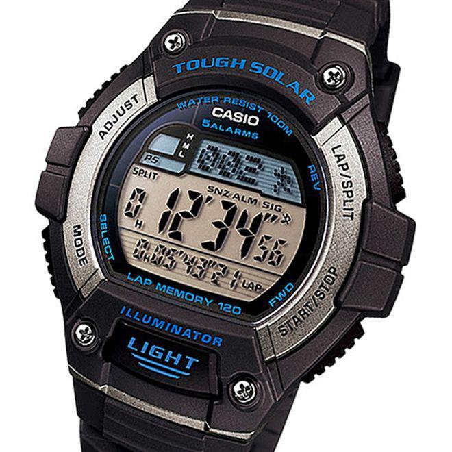 29f39449685 Relógio Casio Tough Solar Digital Masculino W-S220-2AVDF Produto não  disponível