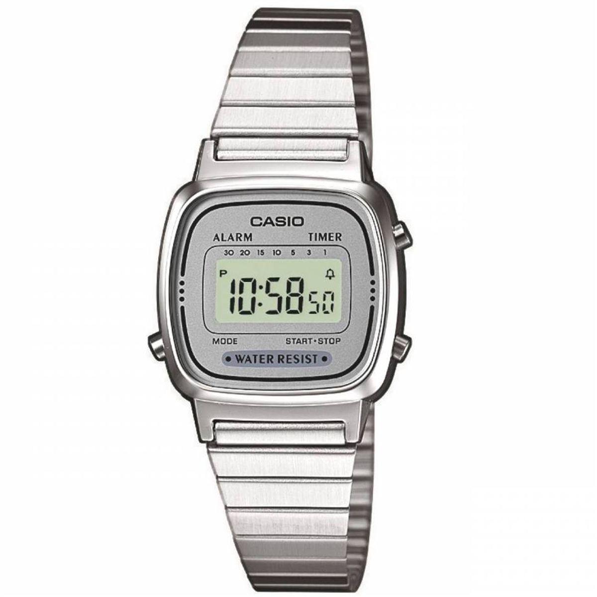73751771550e Relógio Casio Vintage Digital Unissex LA670WA-7DF Produto não disponível
