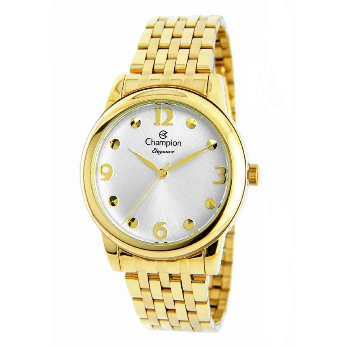 136f0987067 Relógio Champion Elegance Analógico Feminino CN26813H Produto não disponível