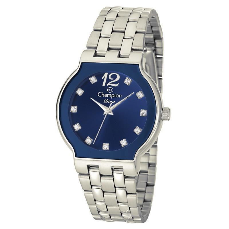ea8d4f58222 Relógio Champion Feminino Diva - CN27401F - Magnum Produto não disponível