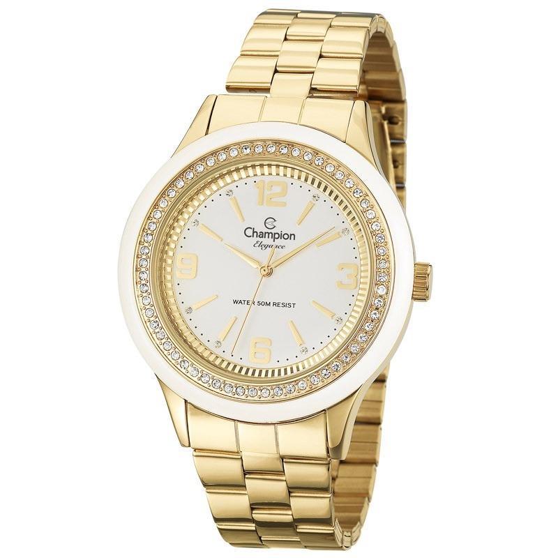 709848fee0b Relógio Champion Feminino Elegance Analógico CN27241H - Relógio ...