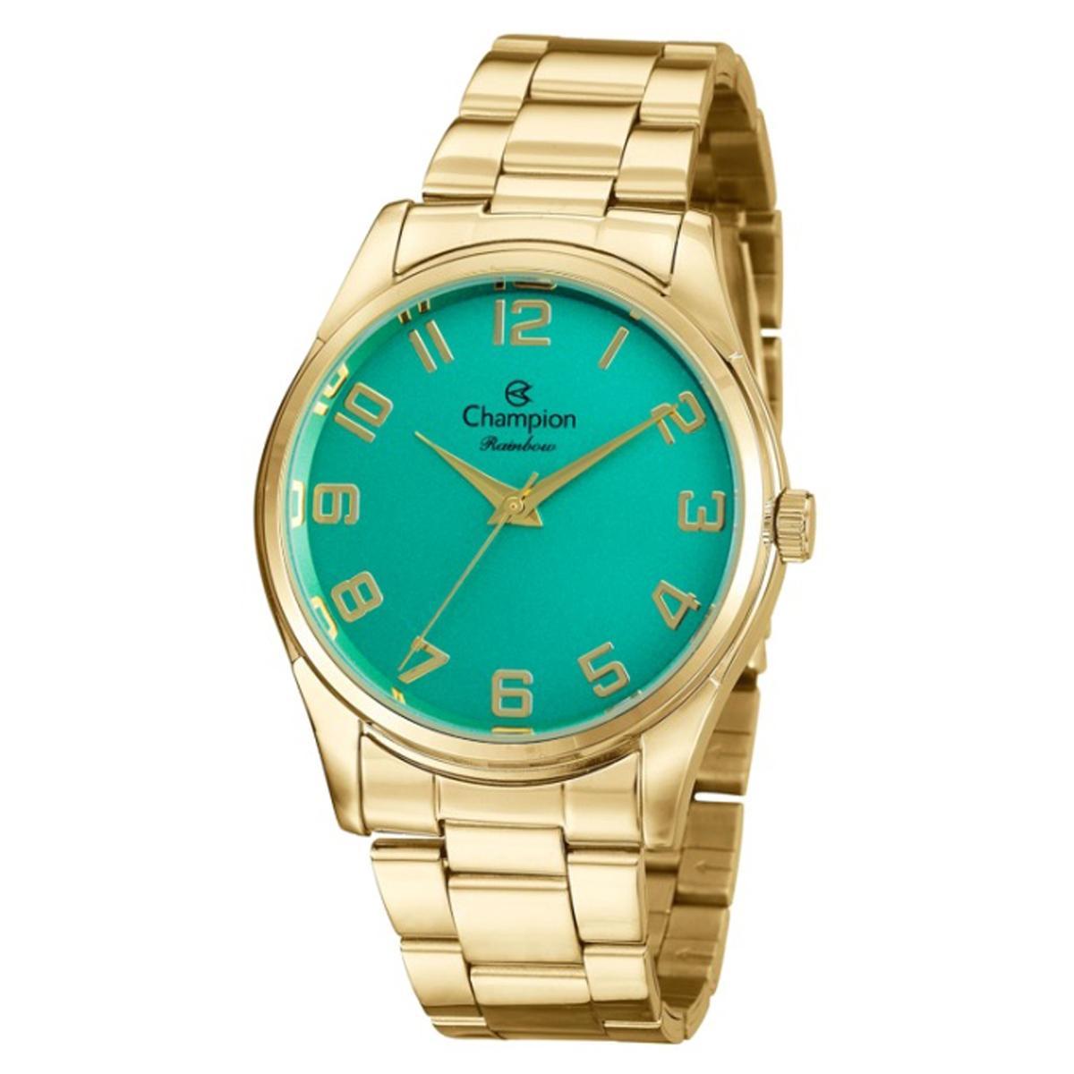 2c754d9efb1 Relogio Champion Feminino Verde CN29884G - Relógio Feminino ...