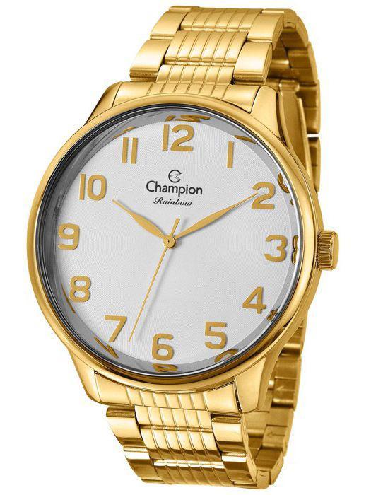 b2065fb11d6 Relógio Champion Rainbow Feminino Branco CN29918B - Relógio Feminino ...