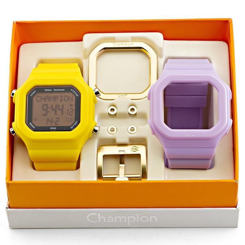1f79fd97e3f Relógio Champion YOT Troca Pulseiras - CP40180XK5 - Magnum - Relógio ...