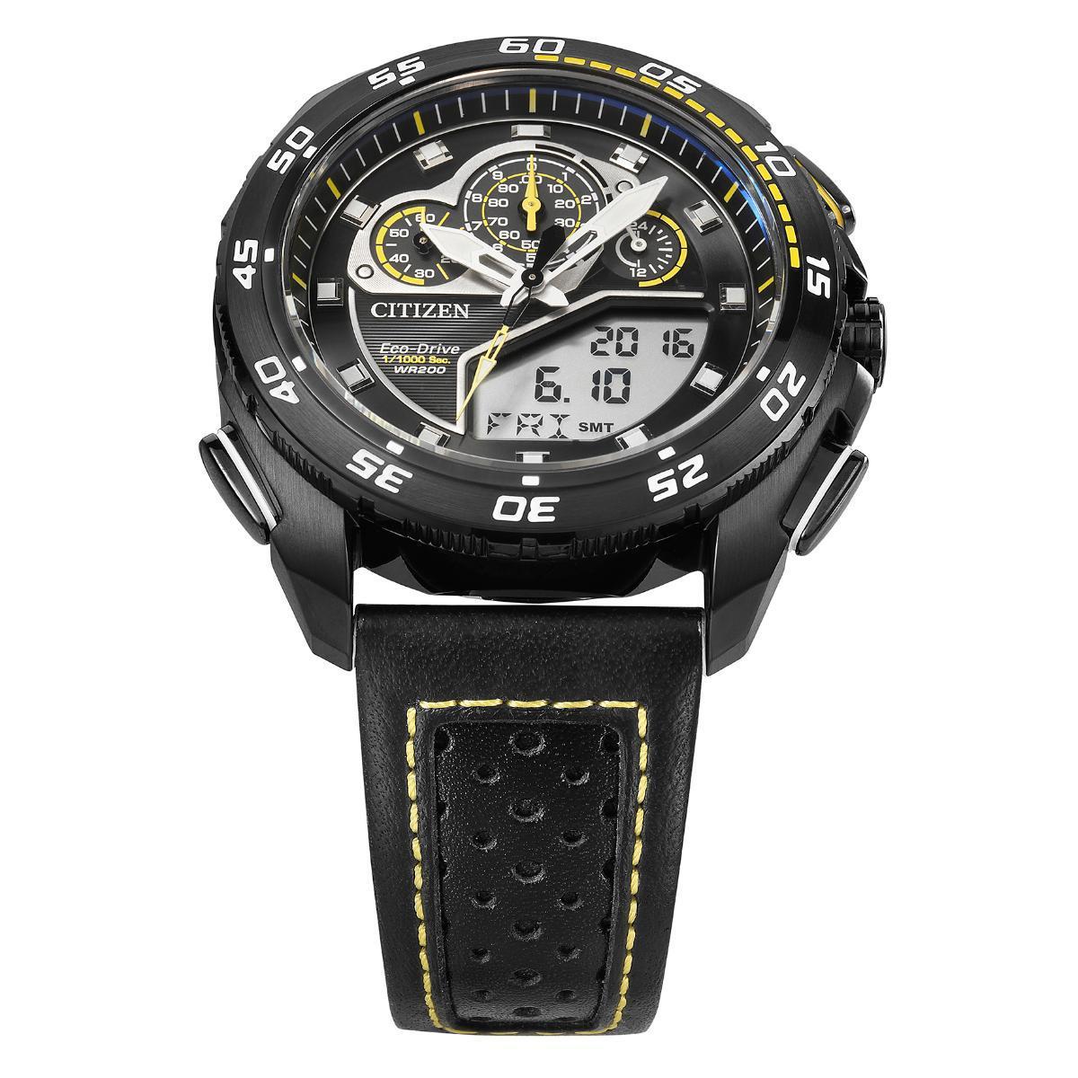6a74d594e76 Relógio Citizen Eco-Drive Caixa de 43 MM Pulseira em Couro R  2.483