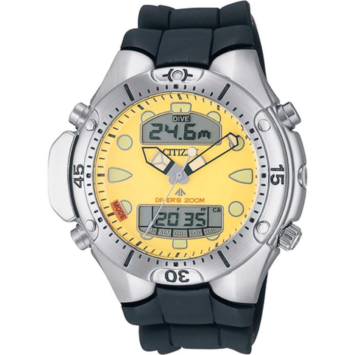 bfe683bdf26 Relógio Citizen Promaster Aqualand Anadigi Diver39s 200m Masculino  JP1060-01X - TZ10128Y Produto não disponível