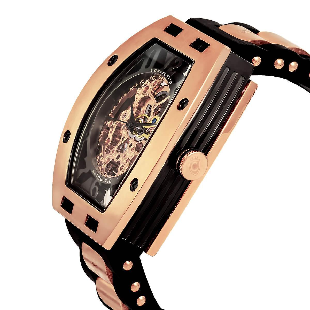 925ec4a5dd8 Relógio Constantim Full Skeleton Special Edition Automatic Rose ZW30303P R   1.656