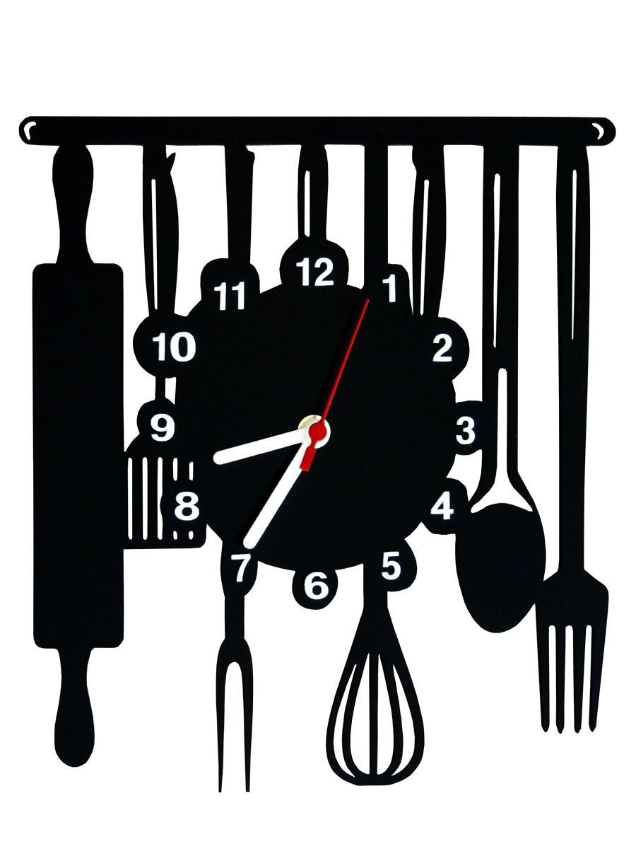 95a5a020691 Relógio de Parede Decorativo - Modelo Cozinha - Me criative R  34