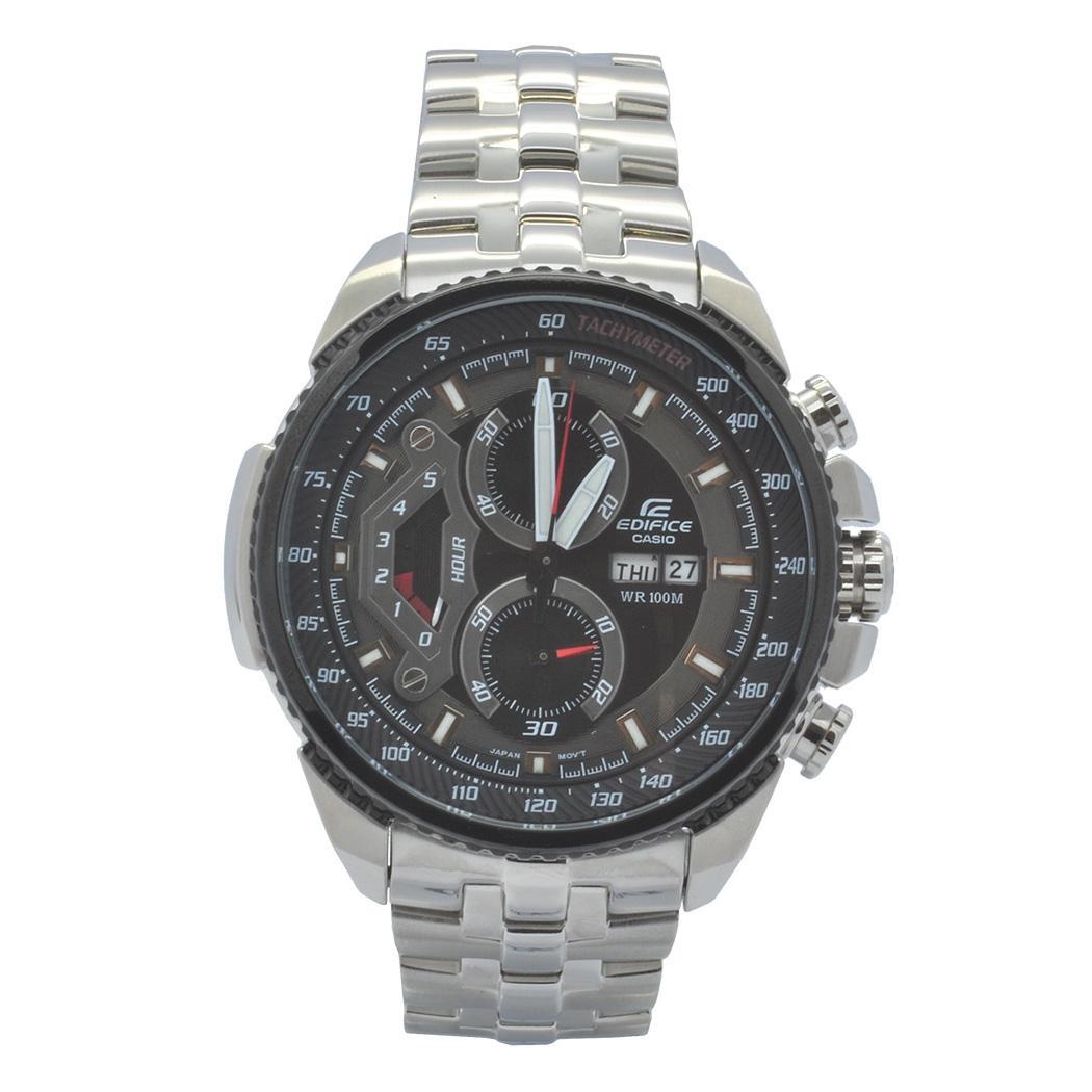 6d51022a4ee5 Relógio de Pulso Casio Edifice Masculino EF-558D-1AVUDF - Prata Produto não  disponível