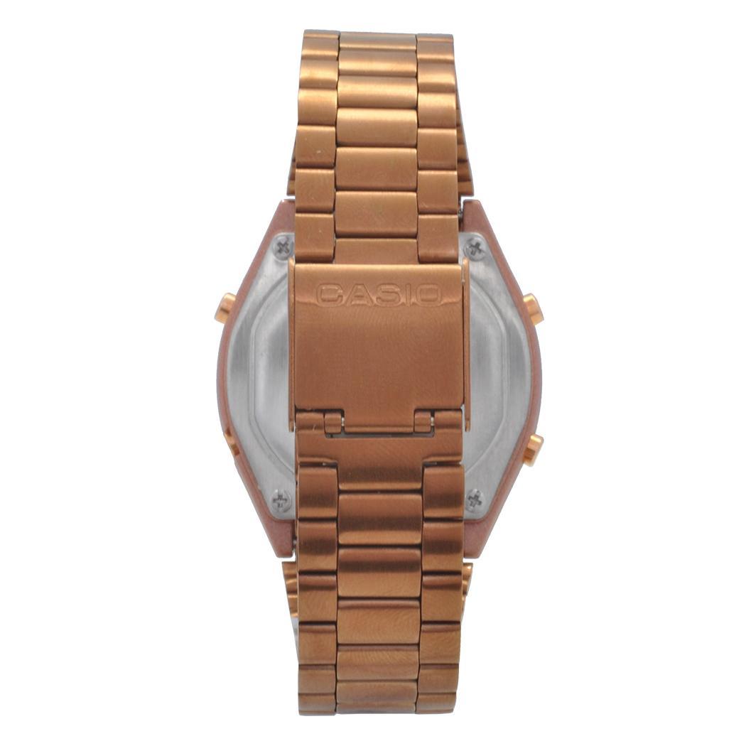c382dda182d Relógio de Pulso Casio Vintage Digital Feminino B640WC-5ADF - Rosê R  413