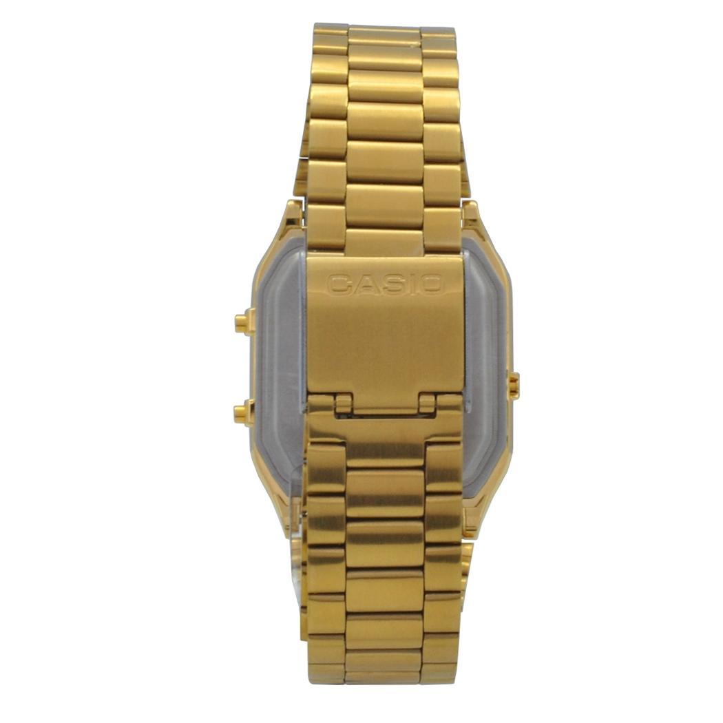 76998a1ceb51 Relógio de Pulso Casio Vintage Unissex AQ-230GA-9DMQ - Dourado R  404