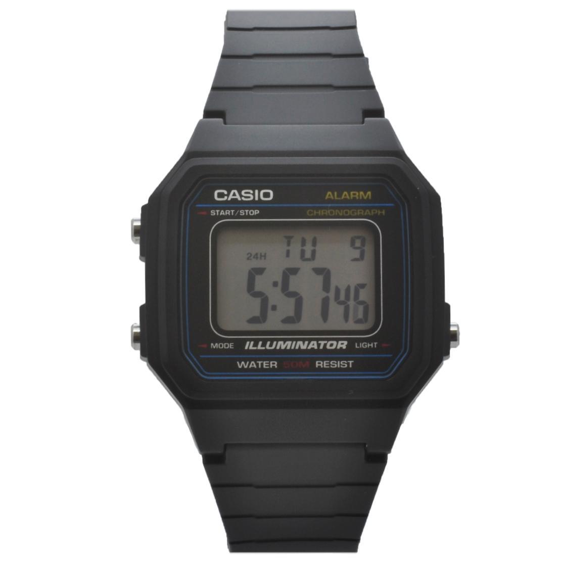 69f7ba80264 Relógio de Pulso Casio Vintage Unissex W-217H-1AVDF - Preto R  174