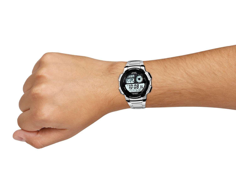 b5db608f352 Relógio de Pulso Masculino Esportivo Digital - Casio AE 1000WD 1A R  214