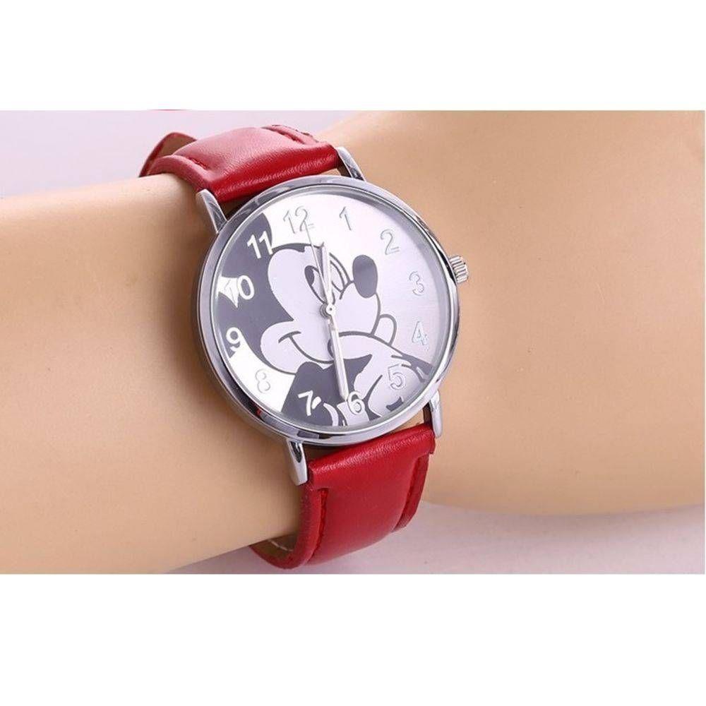 f8ee63aefe6 Relógio de Pulso Mickey Mouse Vermelho - Outras marcas - Relógios e ...