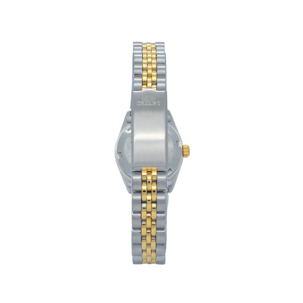 Relógio de Pulso Orient Automático Feminino Misto Crystal 559EB3X - Dourado  e Prata R  723,00 à vista. Adicionar à sacola f3d6c36a9f