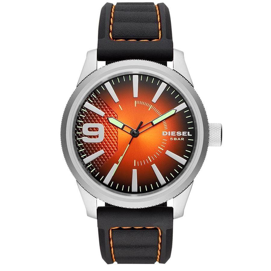 976bfc449f3 Relógio Diesel Masculino Ref  Dz1858 0mn Esporte Fino Prateado R  990