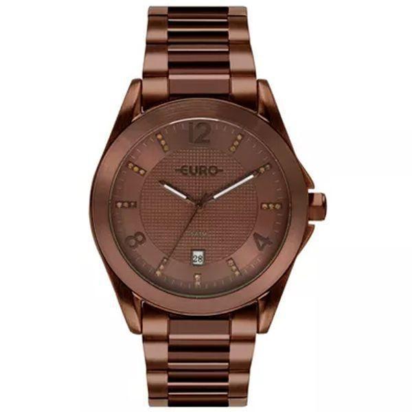 4a24f91891 Relógio Euro Feminino Color Miz Shine Marrom Eu 2315hp 4m - Relógio ...