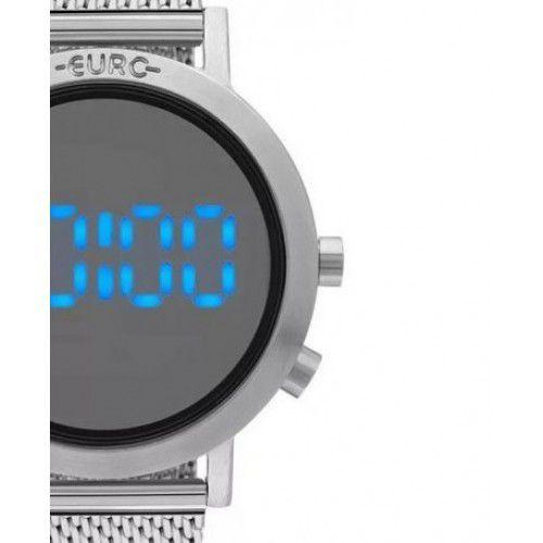 cc82dcf9a6a Relógio Euro Feminino Fashion Fit Prata Aço EUBJ3407AB 3P - Relógio ...