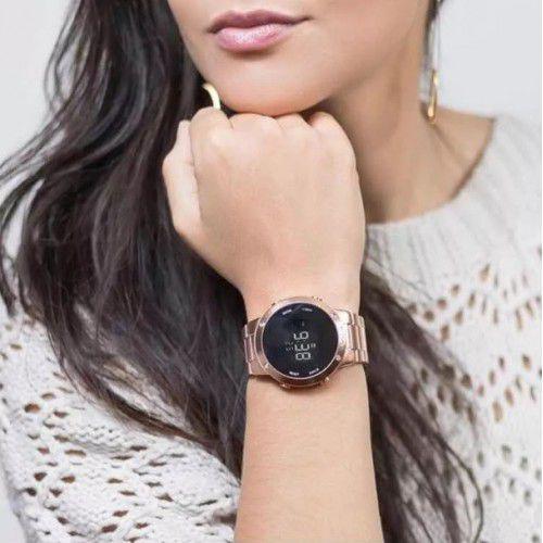 3f497d9e046 Relógio Euro Feminino Fashion Fit Rose Gold EUBJ3279AF 4J - Relógio ...