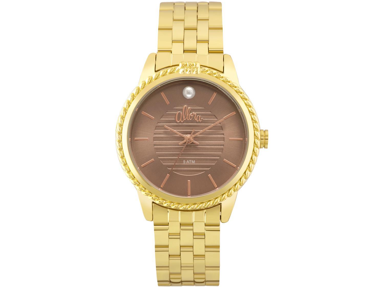 ef28d2857a7 Relógio Feminino Allora Analógico - Resistente à Água Encontro Colorido  AL2035FKV 4M Produto não disponível