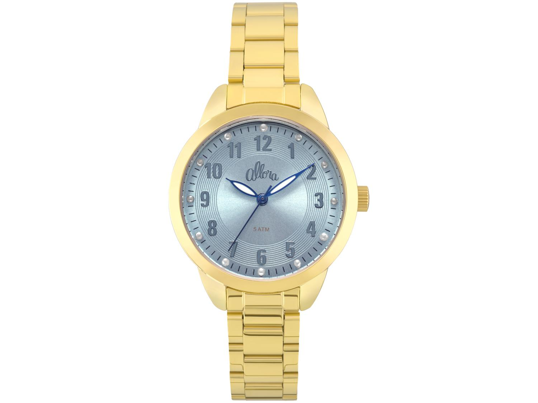 d4431162b65 Relógio Feminino Allora Analógico - Simples Encontro AL2035FKU K4A com  Bijouteria Produto não disponível