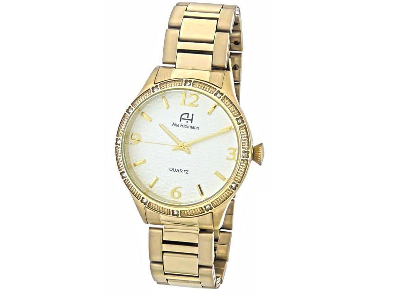 38ff6f129bc Relógio Feminino Ana Hickmann Analógico - AH29052H Produto não disponível