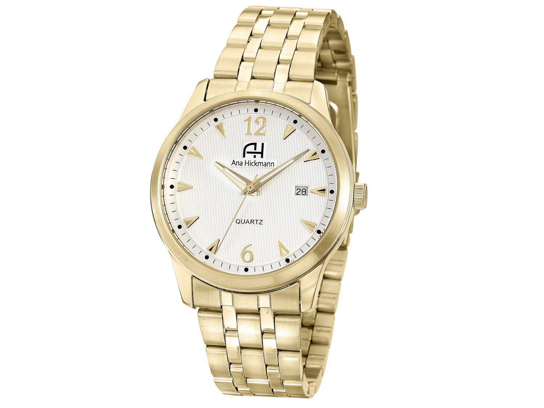 8b483cf6338 Relógio Feminino Ana Hickmann Analógico - Resistente à Água AH29043H -  Relógio Feminino - Magazine Luiza